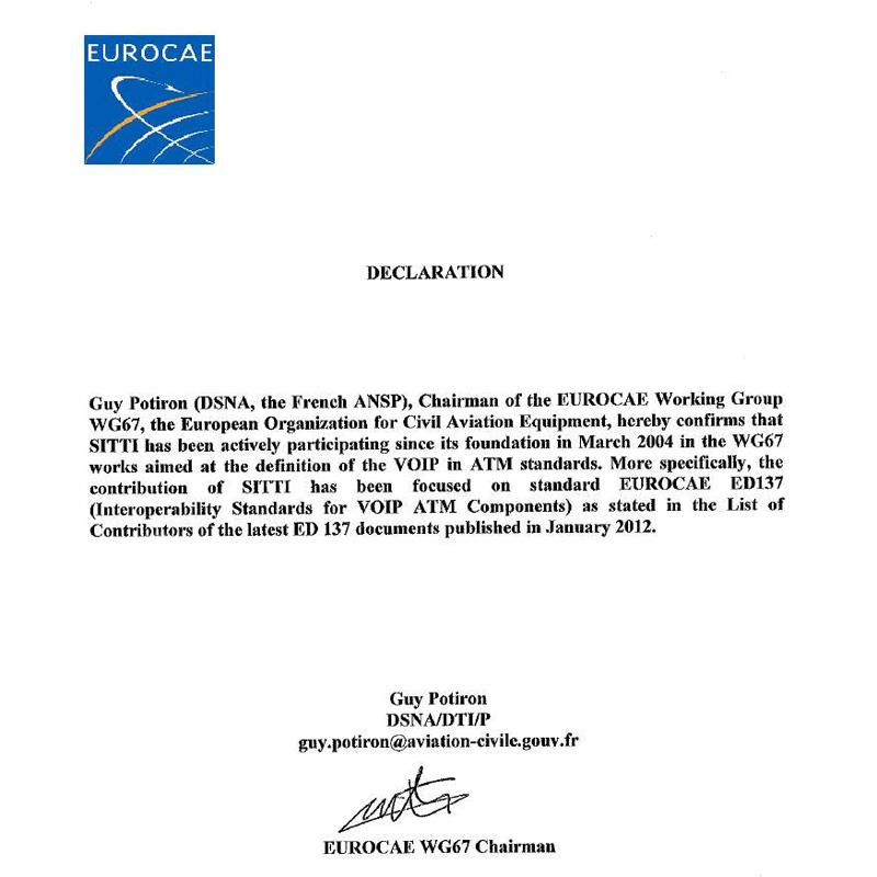 WG67-Declaration